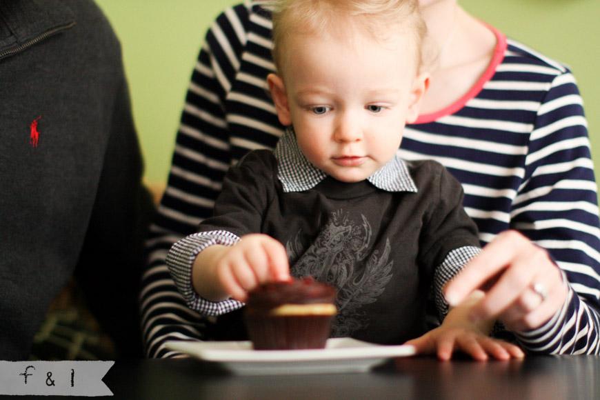 feather + light photography- Child Photographer Cake Smash