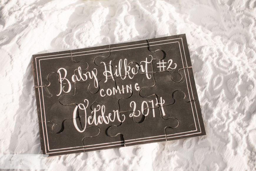 Baby Reveal Photo Shoot | feather + light photography | West Chester, PA