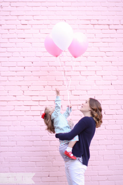 feather + light mother and daugther maternity  West Chester, PA