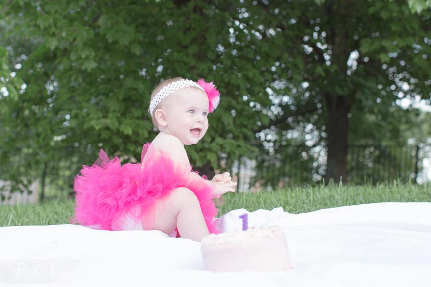feather + light photography | Philadelphia area child + family photographer | cake smash