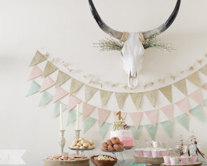 Emerson Belle's First Birthday Party - West Chester, PA {Event, Children + Cake Smash}
