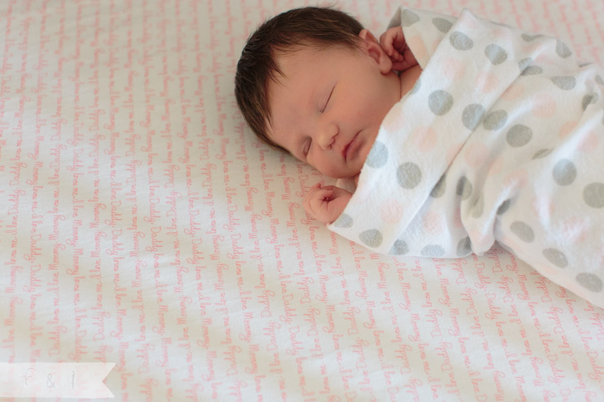 feather + light photography | main line, pa newborn  photographer | baby girl nursery