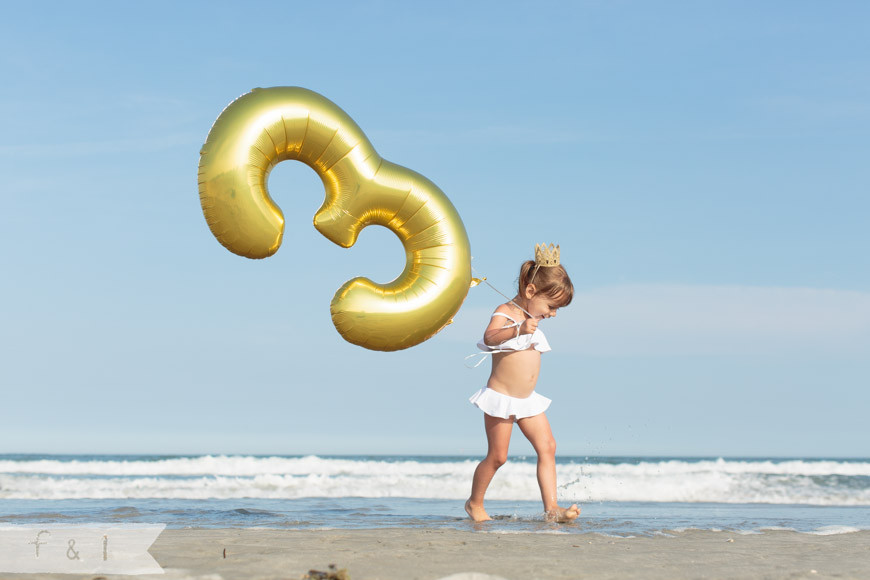 Sienna Lily's 3rd Birthday - Stone Harbor, NJ {Children + Cake Smash}
