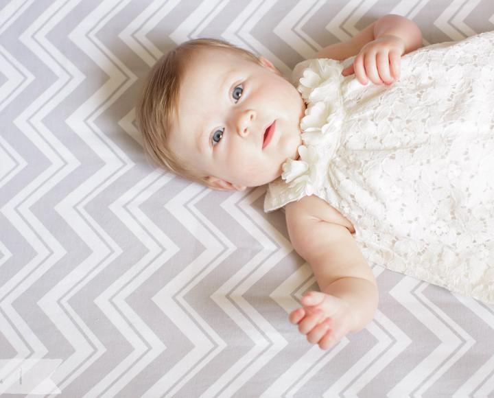 Chloe's 6 Month - Philadelphia, PA {Children + Family}