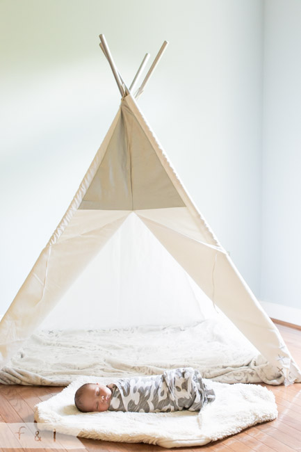 feather + light photography | main line, pa newborn + lifestyle photographer | newborn | teepee