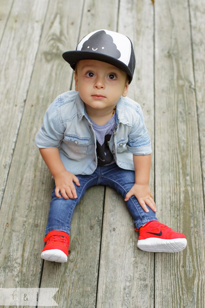 feather + light photography | philadlephia child fashion blogger | whistle + flute | hipster baby boy | skinny jeans