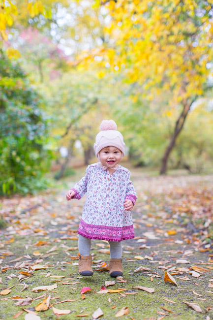 feather + light photography | philadelphia family photographer | gardens | first birthday | fall