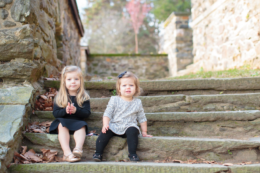feather + light photography | sisters | hunting hill mansion | fall | stone