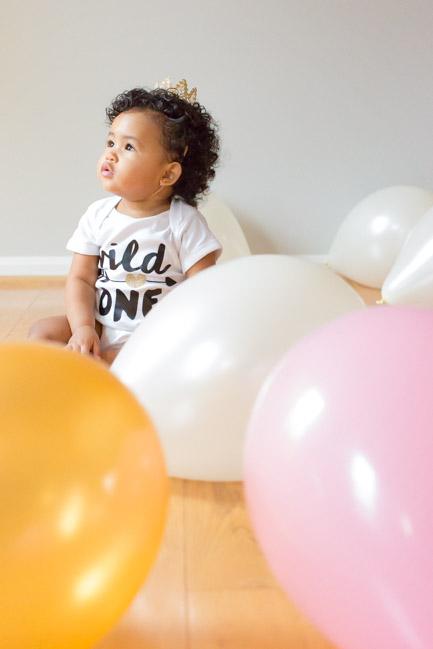 feather + light photography   philadelphia child photographer   cake smash   pink + gold   tutu   first birthday