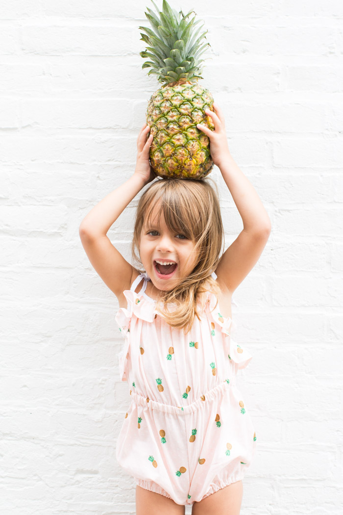 feather + light photography   sadie then ty pineapple romper   baby style   kids fashion
