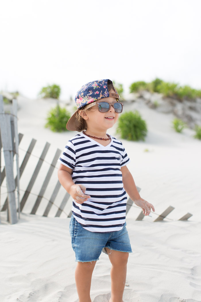 feather + light photography | child fashion blogger | beau hudson | hipster baby boy | keep them cool | floral cap