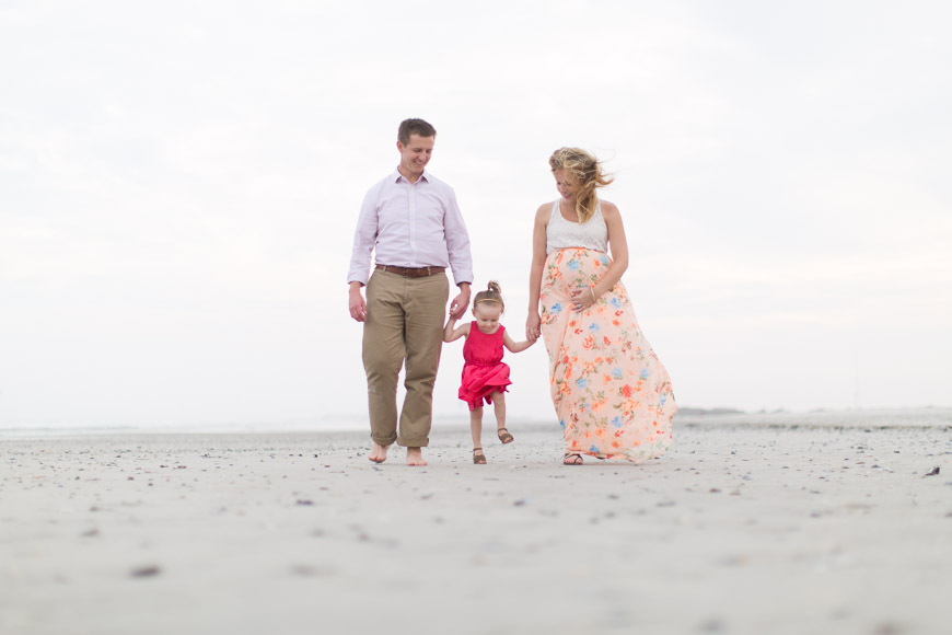 feather + light photography | lifestyle maternity photographer | ocean city, nj