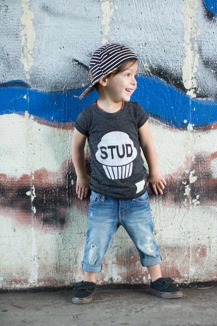 feather and light photography |stud muffin | Retro Brand | child fashion blogger