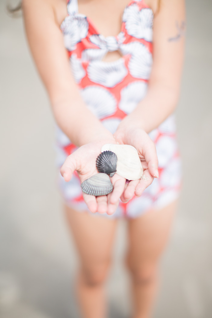 feather and light photography | bluemonet swimsuit | beach | child fashion blogger