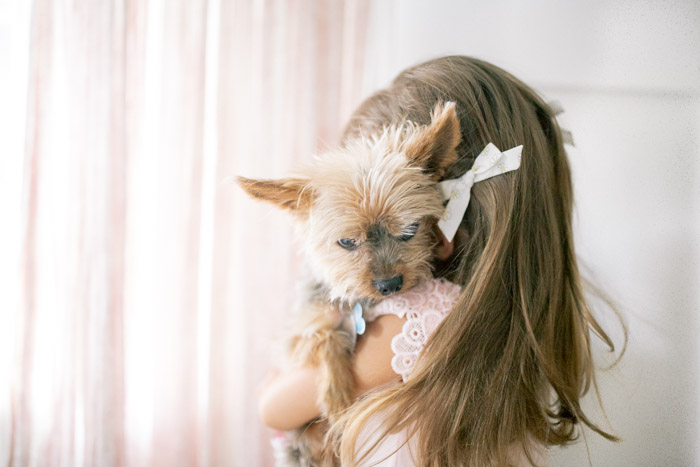 feather + light photography | puppy love