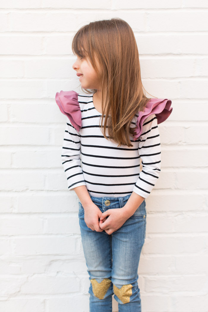 feather + light photography | valentines day outfit for toddler girl | tribe of three