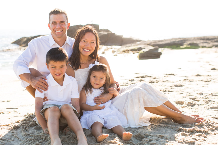 feather + light photography   orange county family photography   laguna beach family photos